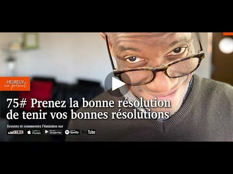 75# Prendre la bonne résolution de tenir vos bonnes résolutions