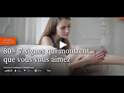 7 signes qui montrent que vous vous aimez